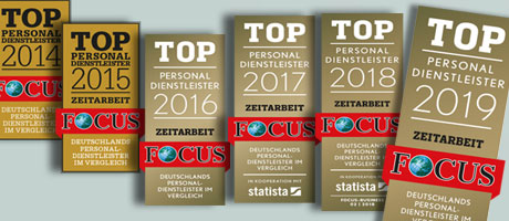 Unique ist Top Personaldienstleister 2016!
